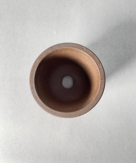 伝市鉢・丸型2.5号(ガス焼)