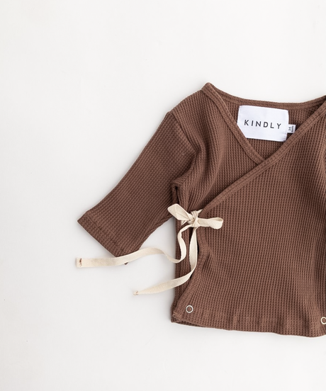 KINDLY |  kimono tie shirt