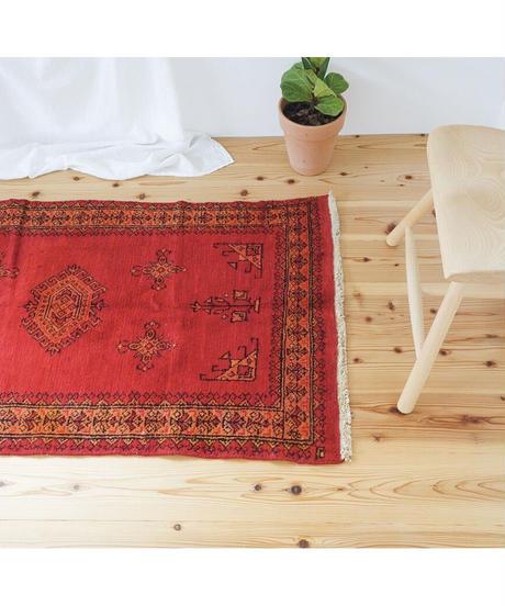 Afghanistan vintage   rug baluch red 130 × 74cm