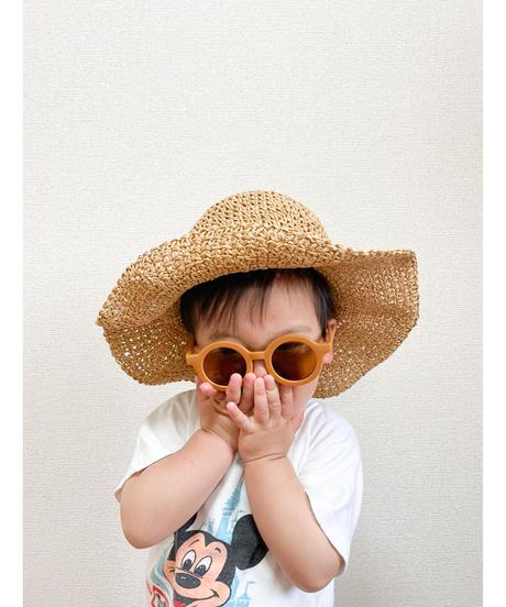 fini.   straw hat - natural