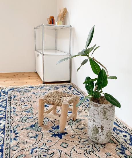 vintage rug   rug cobalt 163 × 92.5cm