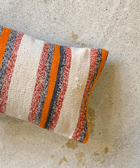 Lily vintage   cushion cover -stripe-