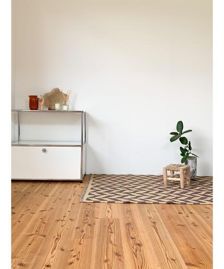 vintage rug   rug kilim purple 150 × 100cm
