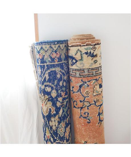 vintage rug | rug terracotta 207 × 117 cm