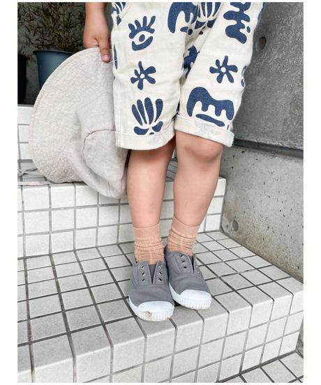Cóndor | basic rib short socks (0-2歳 size)