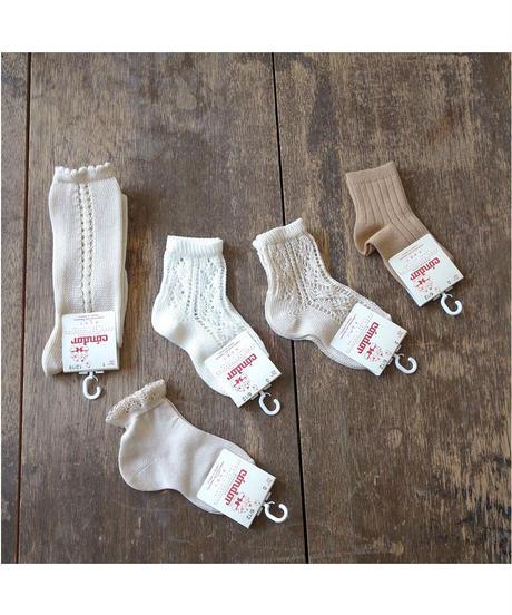 Cóndor | extrafine perle ankle socks (0-3歳 size)
