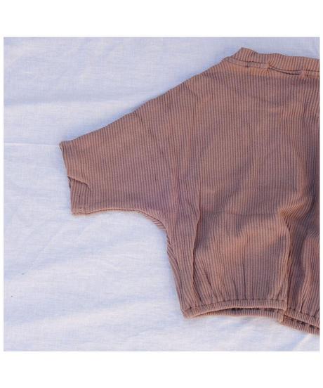 Tiny Trove |  Tully Ribbed Pullover -moca