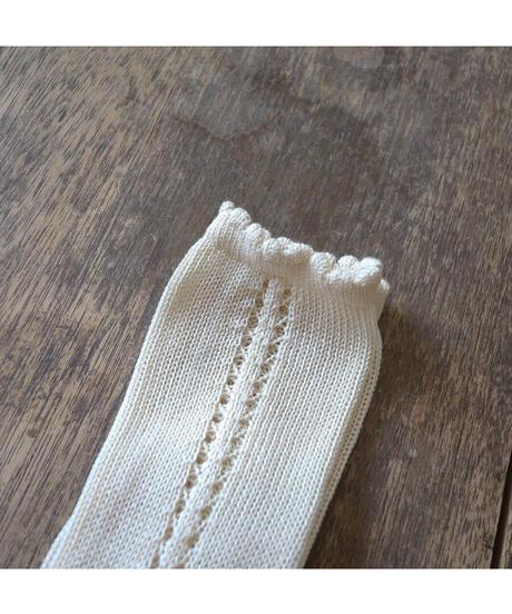 Cóndor | side openwork perle knee high (4-6歳 size)