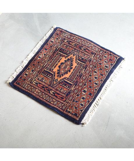 Afghanistan vintage | mini rug navy 44 × 40cm