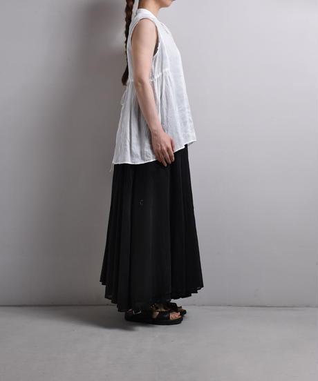 suzuki takayuki / band-sleeve blouse