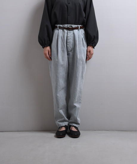 ikkuna suzuki takayuki / tapered denim pants