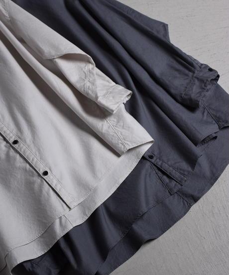 NO CONTROL AIR / コットンビエラ ノーカラーシャツ