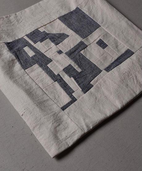 絲室  / パッチワークトートバッグ(マチなし)