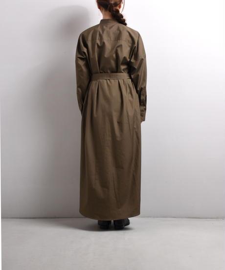 UNDECARATED / コットンギャザードレス