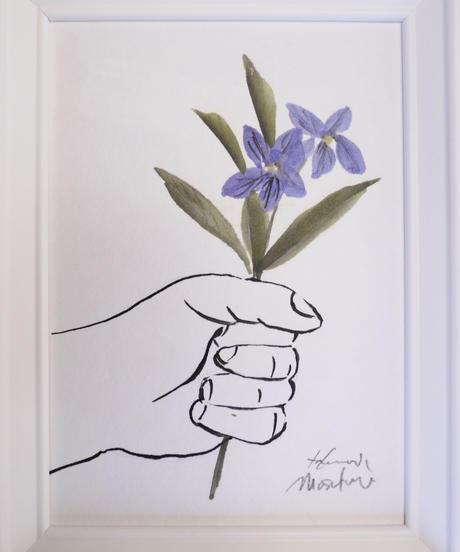 give the flower [スミレ]