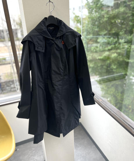 【ハーフコート】ナイロンジャンパーコート(撥水加工)Jumper coat (no.304)