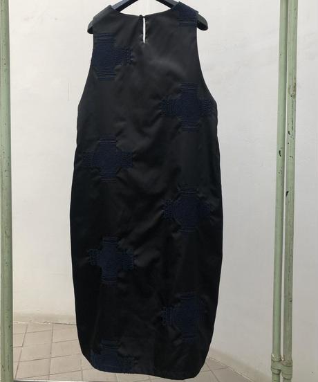 クロスエンブロイダリーナイロン ジャンパースカート(no.450)