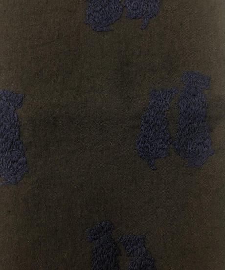 オリジナルマスク&トート同色セット〔DogTerrierテリア犬〕