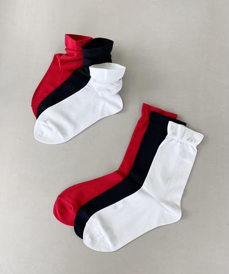 【新色】takeoff socks(3色セット)