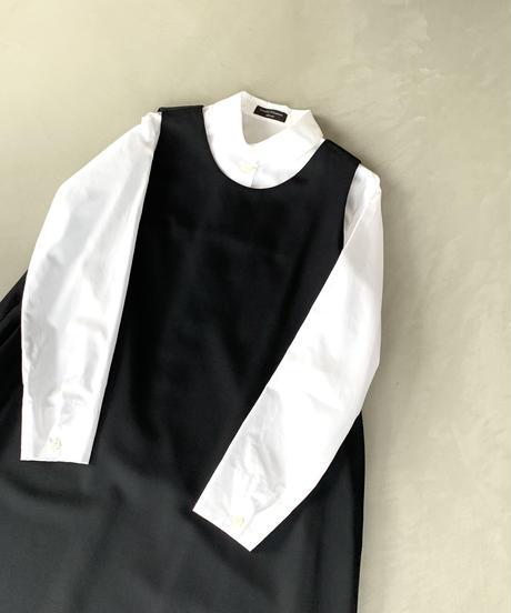 黒ギャバジャンパースカート(high quality Gabardine / no.412)
