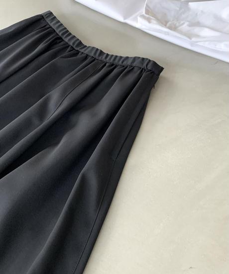 黒ギャバ バルーンスカート(highqualityGabardine /no.521)