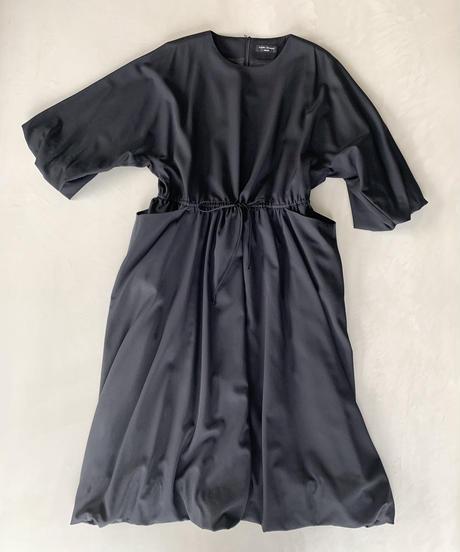 黒ギャバ ワンピース(high quality Gabardine / no.431)