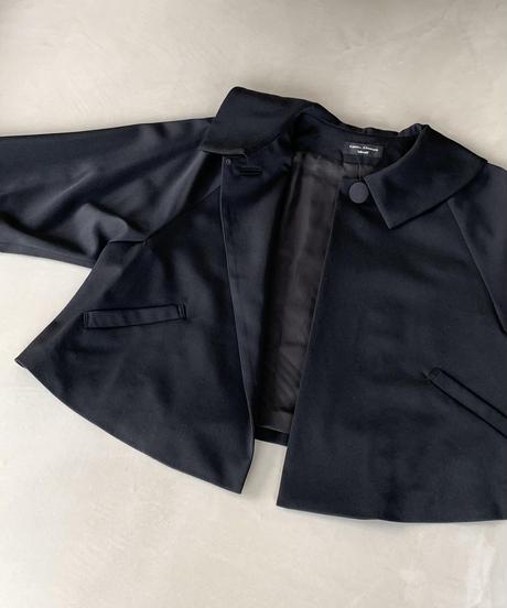 黒ギャバ ジャケット(high quality Gabardine / no.210)