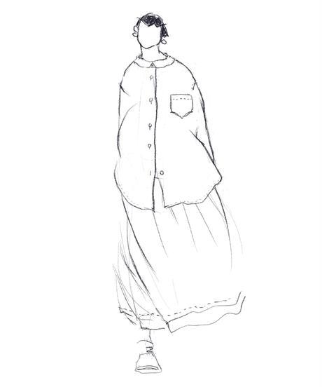 【定番】コットンブロードブラウス(no.209)