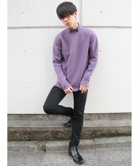 LONGTALL TURTLE KNIT【PPL】