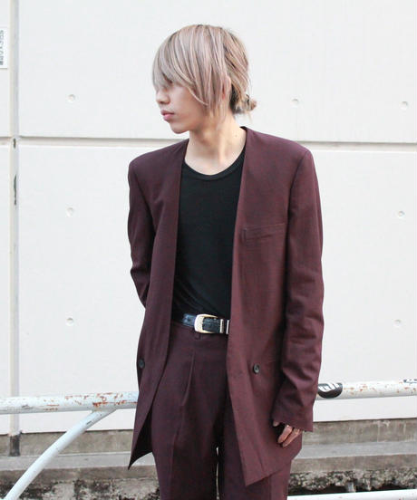 COLLAR-LESS HOMME JACKET【WIN】
