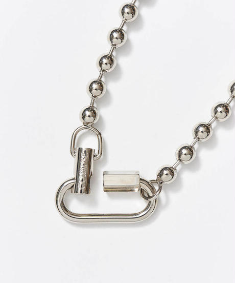 【7.25(sat)21:00- PRE-ORDER】LOYALTY Ball Chain Necklace(Silver)