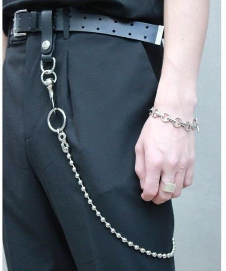 """C.M.S""  BALL WALLET CHAIN"