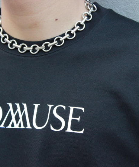 """C.M.S"" HOOPCHAIN NECKLACE  【SLV】"