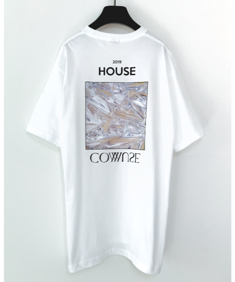 HOUSE COMMUSE TEE【WHT】