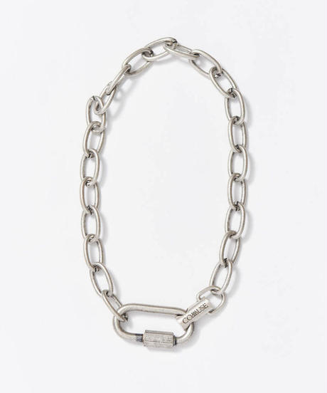 【7.25(sat)21:00- PRE-ORDER】LOYALTY  Chain Necklace (Gray)