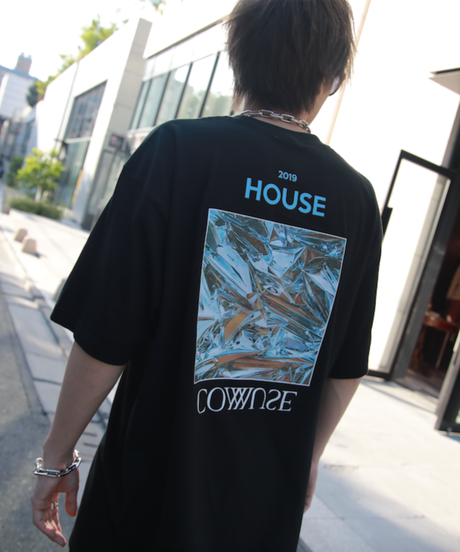 HOUSE COMMUSE TEE【BLK】