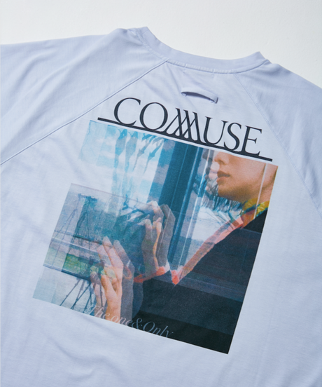 COMMUSE WOMAN H/S TEE【BLK】