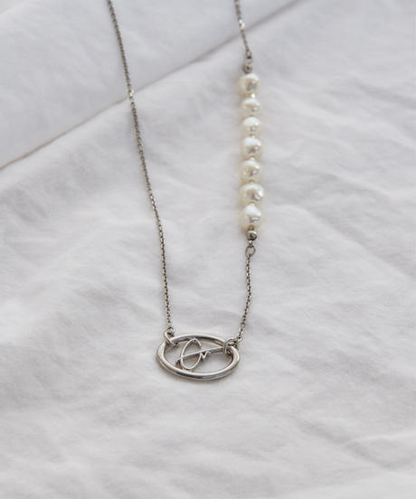 【2020.11.28(sat)21:00-PRE ORDER】GM UNBALANCE PEARL NECKLACE