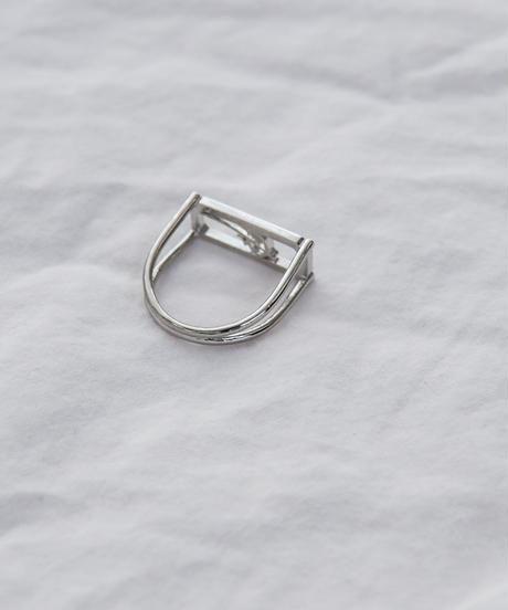 【2020.11.28(sat)21:00-PRE ORDER 】GM STRUCTURE RING(silver)
