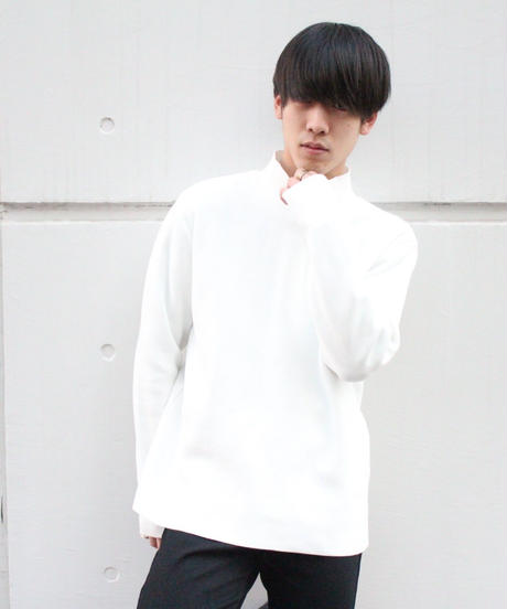 LONGTALL TURTLE KNIT【WHT】