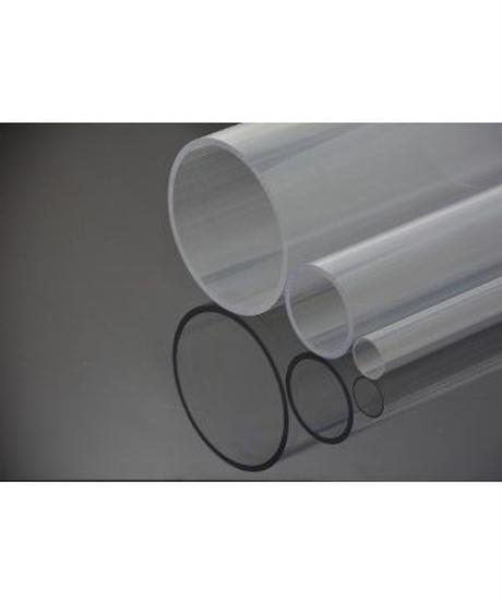 ポリカーボネイト透明パイプ(外径89mm×内径77mm×1M:厚肉タイプ)