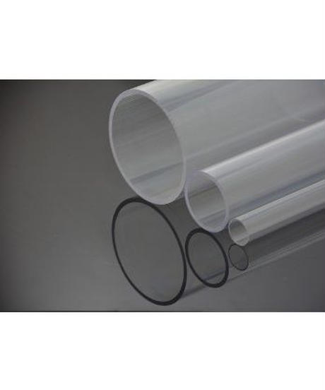 ポリカーボネイト透明パイプ(外径76mm×内径65mm×2M:厚肉タイプ 1本入)