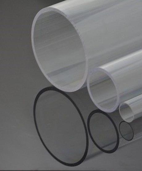 ポリカーボネイト透明パイプ(外径18mm×内径16mm×2M:薄肉タイプ 2本入)