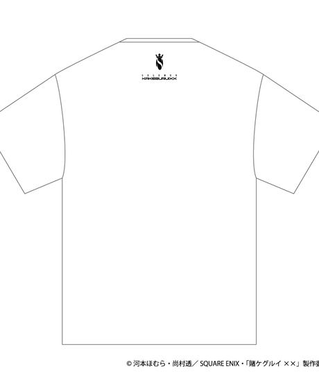 SOLOMON×賭ケグルイ××「桃喰リリカ T-Shirts」(WHT)