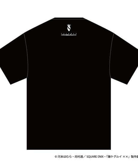 SOLOMON×賭ケグルイ××「夢見弖ユメミ T-Shirts」(BLK)