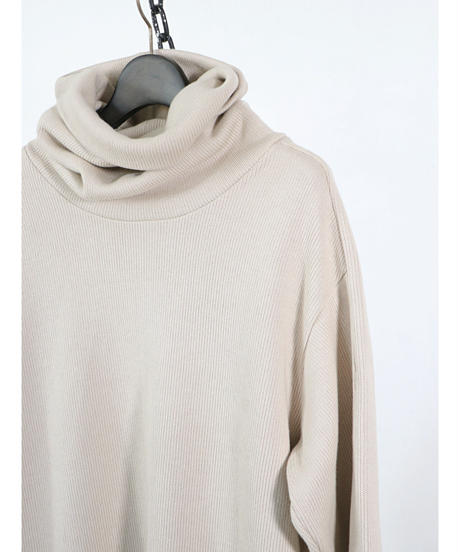 A.F ARTEFACT / ag-4063  / Turtle Neck Knit Pullover / IVORY