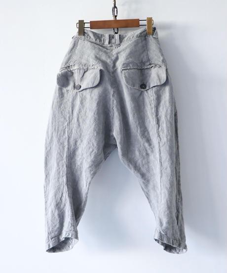 Vital / VT-2002-1 / Sumi Dyed Cropped Pants / L.GREY