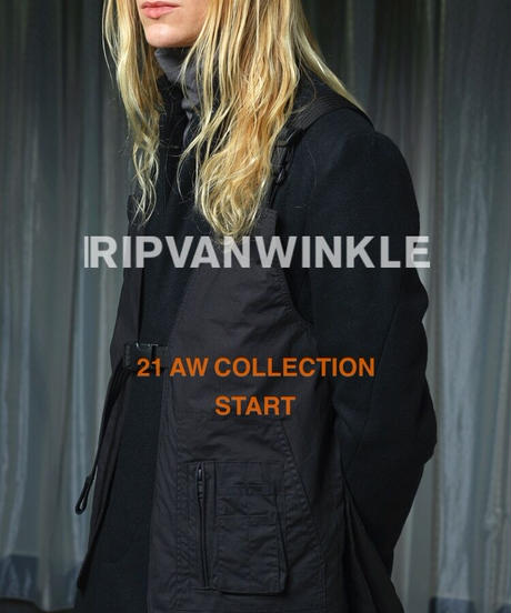 """ RIPVANWINKLE "" 21AW Look Image"
