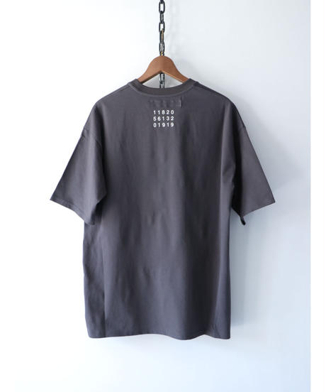 A.F ARTEFACT / ag-3010-3  / Over size T-Shirts / D.GREY