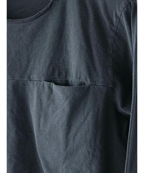 daub / M22FW-TS14/T-252  / Long sleeve T with Pocket / GREY